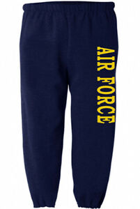 Air Force Sweatpants Mens Sweats Joggers Clothing Gear Military Gifts