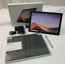 "Microsoft 1866 1725 Surface Pro 7 Tablet Bundle 12.3"" 8GB 128GB SSD i5-1035G4"