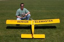 Senior Telemaster  RC  96 inch Trainer AIrplane Printed Plans & Templates