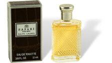 "Ralph Lauren - ""safari for Men"" perfume miniatura 11ml EDT eau de toilette con Box"