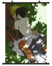 4705 Naruto Sasuke Decor Poster Wall Scroll cosplay