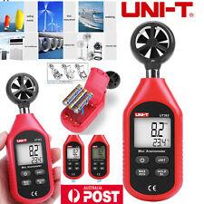 UNI-T UT363 Digital LCD Anemometer Air Wind Speed Gauge Temperature Test Meter
