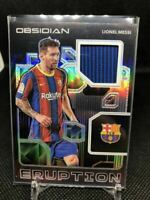 2020-21 Panini Obsidian Lionel Messi Jersey /149 Soccer Card