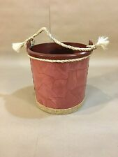 Pail Planter - For Plants, Small Trees, Home Decoration, Paper Mache Style