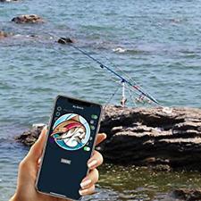 Smart Fishing Bite Alarm,Bluetooth Mobile APP Fish Bait Alarm,No Voice On Alarm