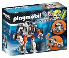 Playmobil - agente general con robot.