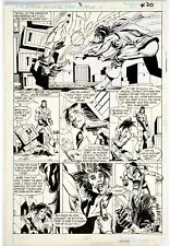 Tom Grindberg & Dave Cockrum Orig Art - Marvel Comics Presents #5 Pg 4 SHANG-CHI