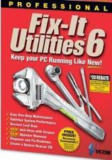 Fix-It Utilities 6 Professional Pc Cd maintenance optimize performance recover +
