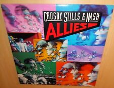 Crosby, Stills & Nash‎ Allies '83 Live VINYL LP & COVER EX / For What It's Worth