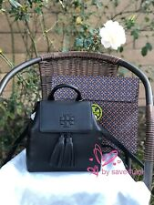 Tory Burch Thea Mini Backpack 55367 Black Leather