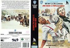 Joe Bass l'implacabile (1968) VHS Warner 1a Ed  Burt Lancaster