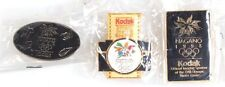KODAK 1998 OLYMPIC PINS NAGANO SET OF 3
