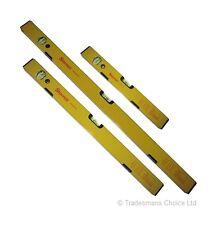 Starrett 170-3MLS Magnetico Livella in alluminio set 3 PEZZI 40/60/80cm Tedesco