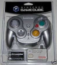 Official Nintendo Gamecube Wavebird Wireless.. platinum- silver.. SealED!