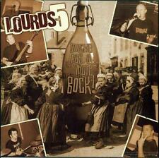 "LOURDS 5 ""TOUCHE PAS A MON BOCK!"" 7"" 45 rpm NEW! OI!-STREETPUNK"