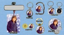 DAVID CASSIDY KEYRING FRIDGE MAGNET PURSE BOTTLE OPENER TROLLEY MEMORABILIA