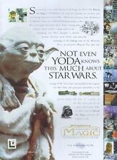 Star Wars Behind The Magic 1998 Magazine Advert #4322