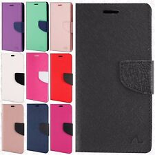 For Samsung Galaxy Note 8 Leather 2 Tone Wallet Case Pouch Flip Phone Cover