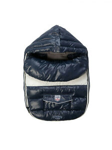 7 A.M. ENFANT Midnight Baby Shield Double Cover Baby Foot-Muff LS100 Small $138