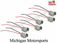 Michigan Motorsports Fuel Injector Connectors with Pigtails Fits Bosch 210 Fuel Injector Connectors with Pigtails 8