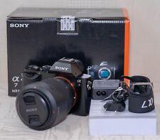 Sony Alpha ILCE-7K 24.3 MP Digitalkamera - Schwarz (Kit FE 28-70mm f/3.5-5.6) A7
