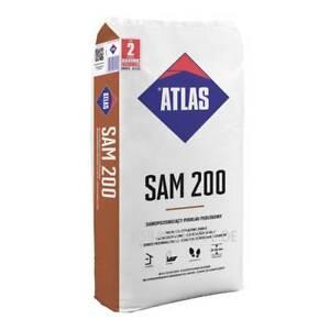 40x Ausgleichsmasse selbstverlaufend für innen Gips Basis 25-60 mm ATLAS SAM 200