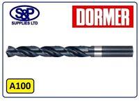Dormer A100.25 General Purpose Jobber Drill Total Length 19 mm Cutting Diameter 0.25 mm Flute Length 3 mm Pack of 10 High Speed Steel