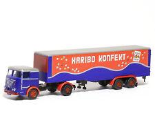 Lemke lc3624-camion Büssing LU 11-16 semi-remorque Haribo confitures-PISTE N-Neuf