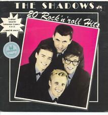 "SHADOWS - 20 ROCK 'N' ROLL HITS - 12"" VINYL LP (HOLLAND)"