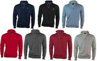 Nwt. Men´s GANT Half Zip cotton sweater jumper