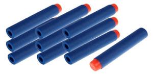 10x 7.2cm NERF Gun Bullets Darts for N-strike Elite guns Round Head Blaster ID17