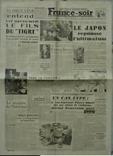 France-Soir (29 juillet 1945) Le Japon repousse l'ultimatum