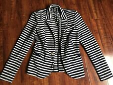 Juicy Couture S striped blazer