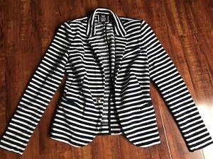 Juicy Couture S striped blazer