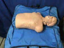 WHITE LAERDAL LITTLE ANNE CPR ADULT MANIKIN FIRST AID TRAINING NURSING EMT BRAD
