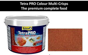 Food for Tetra Pro Color fish strengthens color premium complete fish food