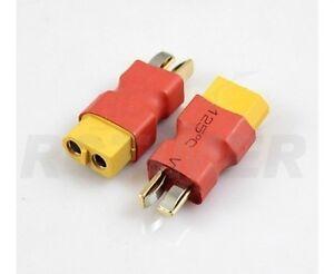 Lipo-adapter XT-60 Buche auf T-Stecker T-plug 1 Stück