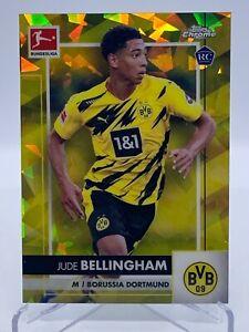 20-21 Topps Chrome Bundesliga SAPPHIRE Jude Bellingham Rookie Card #d/ 99 RC