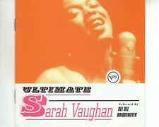 CD SARAH VAUGHANultimateVERVE 1997 EX-  (A3601)