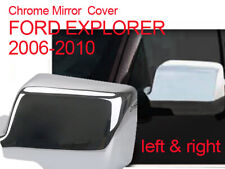 FORD EXPLORER 2006 - 2010 CHROME ABS MIRROR COVER INSERT ACCENT
