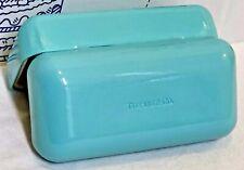 TIFFANY & CO. SUNGLASSES EYEGLASS OPTICAL HARD GREEN Blue Glasses Clamshell CASE