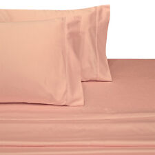 Attached Waterbed Solid Sheet Set 300 Threadcount 100% Cotton