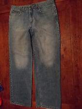 "Mens MT:2 Blue Jeans RELAXED STRAIGHT leg 36""x 30"""