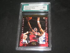 MICHAEL JORDAN 1996 A CUT ABOVE #CA2 GENUINE AUTHENTIC BASKETBALL CARD GRADED 9