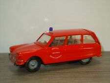 Citroen AMI 6 Break Service Incendie Departemental - Verem France 1:43 *41017