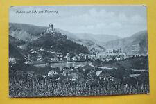 AK Cochem mit Sehr Winneburg 1905-15 Ortsansichten Häuser Gebäude Burg ++ RP13