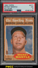 1962 Topps Mickey Mantle ALL-STAR #471 PSA 3 VG (PWCC)