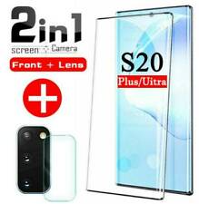 For Samsung Galaxy S20 Ultra Plus 5G Full Cover Tempered Glass Screen Protector