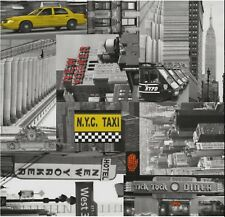 Klebefolie Möbelfolie New York City Taxi selbstklebende Dekorfolie 45x200 cm