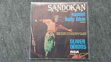 "Oliver Onions-Sandokan 7"" single SUNG IN SPANISH"